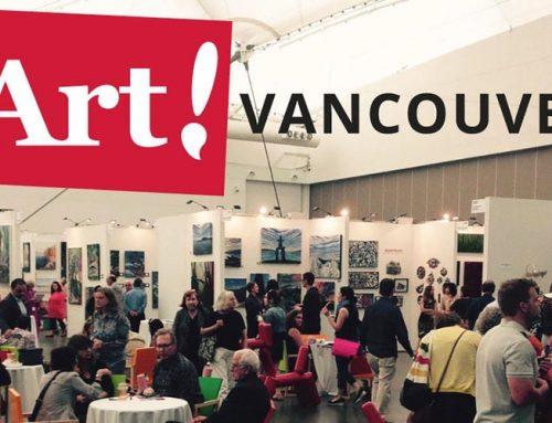 Du 25 au 28 Mai 2017 : Art! Vancouver 2017
