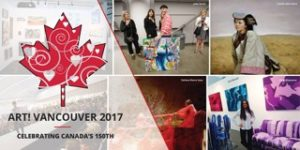 Art! Vancouvert 2017 affiche